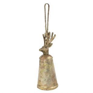 Bell gold deer 35cm