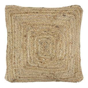 Jute cushion 45x45cm