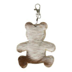 Key chain bear brown/white (bos taurus taurus)