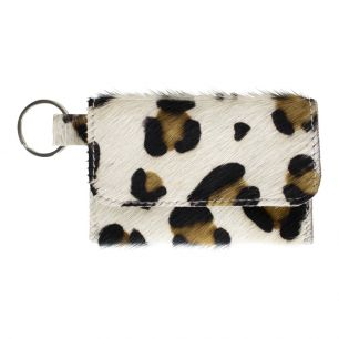 Key chain pouch panther (bos taurus taurus)