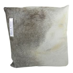 Cushion cow grey 45x45cm (bos taurus taurus)