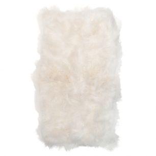 Throw 4-skin iceland sheep white 130x200cm (ovis aries)