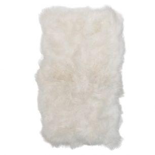 Throw 6-skin iceland sheep white 210x200cm (ovis aries)