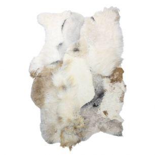 Throw iceland sheep melange mix light 120x180cm (ovis aries)